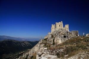 Castle abruzzo italy
